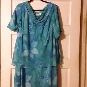 Free flowing Floral print dress